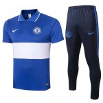 Maillot Polo Chelsea 2020-21 blue White