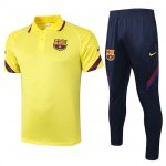 Maillot Polo Barcelone 2020-21 yellow