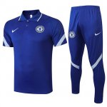 Maillot Polo Chelsea 2020-21 blue