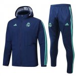 Veste A Capuche Real Madrid Windrunner 2019-20 blue