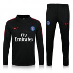 Enfant Survetement PSG 2016 2017 Black and red