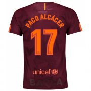 Maillot Barcelone Paco Alcacer Third 2017 2018