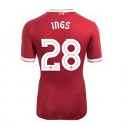 Maillot Liverpool UCL Ings Domicile 2017 2018