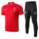 Maillot Polo Liverpool 18-19 red