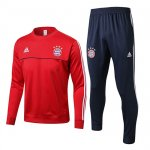 Survetement Bayern Munich 2017 2018 Gray red