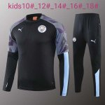 Enfant Survetement Manchester City 2019-20 black