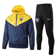 Veste A Capuche Boca Juniors Windrunner 2019-20 yellow blue