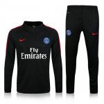 Survetement PSG 2016 2017 Black and red